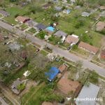 hurricane aftermath captured with IMGING