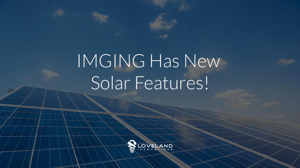 IMGING for Solar