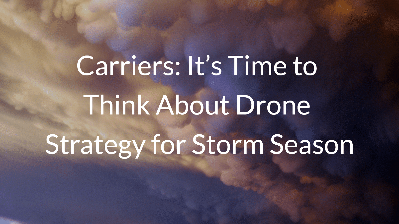 carrier storm response