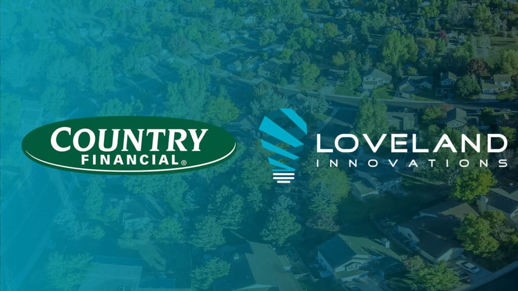 country financial and loveland innovations logos